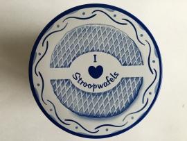 I Love Stroopwafels Blik