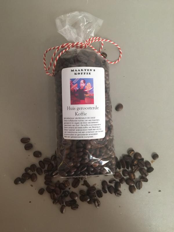 150 gram vers gebrande Maarten's koffie