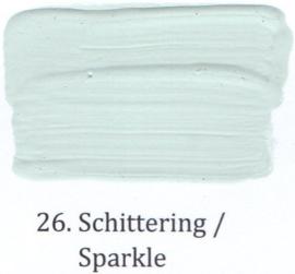 26 Schittering - Matte lak OH Terpentinebasis