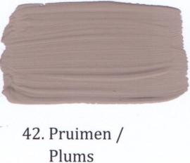 42 Pruimen  - Matte lak OH Terpentinebasis