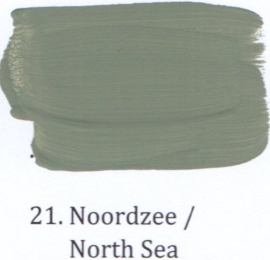 21 Noordzee - Matte lak OH Terpentinebasis