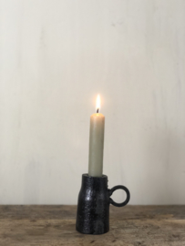 Kandelaar Noortje - Smeedijzer - 8x5 cm