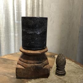 Stompkaars H18 x D16 cm - Zwart