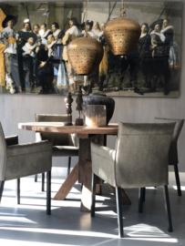 Eettafel Xavier met robuust blad - 150 cm