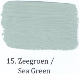 15 Zeegroen - voorstrijkmiddel kalkverf op kleur