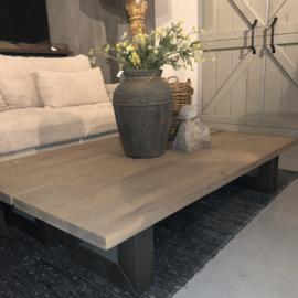 Salontafel square leg 150x50x30 cm - Keijser & Co