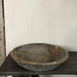 Schaal van oud hout #1 - 49-30 x 10 cm