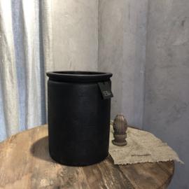 Cilinder pot L - Dark grey - Still Collection