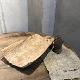 Graanschep van licht hout