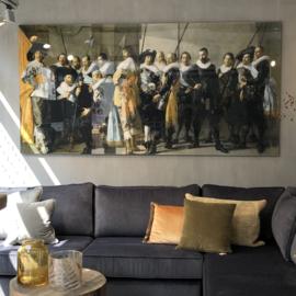 Schilderij De Maegre Compagnie 120x260 cm
