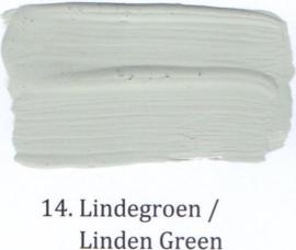 14 Lindegroen - Hoogglans lak OH terpentinebasis