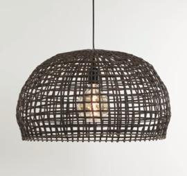 Hanglamp Sien van bruin rotan 56 cm