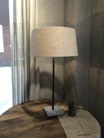lampenkap in naturelkleur - 40x35x20 cm