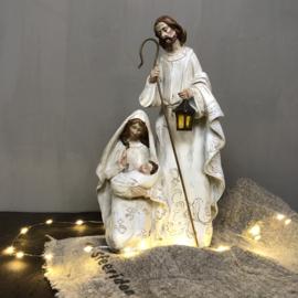 Kerstgroep wit 1-delig