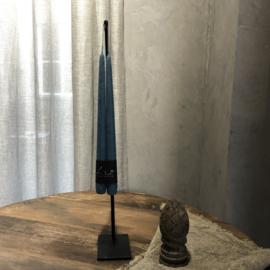 Dinerkaars 30 cm - Blauw - Set van 2