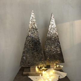 Kerstboom 80 cm koperkleurig