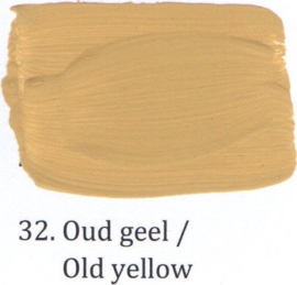 32 Oud geel  - Matte lak OH Terpentinebasis