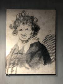 Schilderij Rembrandt 130x100 cm