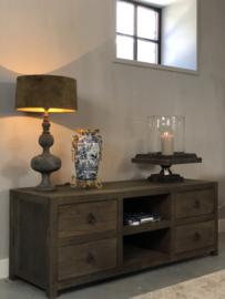 TV-Dressoir Esther van oud hout - 160x50x60 cm