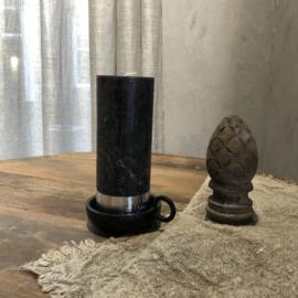 Stompkaars H18 x D7 cm - Zwart