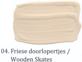 04 Friese doorlopertjes - voorstrijkmiddel kalkverf op kleur