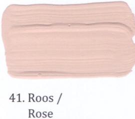 41 Roos  - Matte lak OH Terpentinebasis
