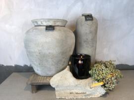 Round vase XL Tin Still Collection - links