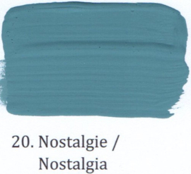 20 Nostalgie - voorstrijkmiddel kalkverf op kleur