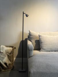Vloerlamp - leeslamp Martin - 140 cm - Leistenen voet