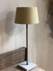 Lampenkap 25 cm kerriekleur