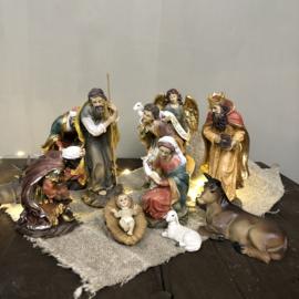 Kerstgroep 11-delig