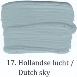 17 Hollandse lucht - Matte lak OH Terpentinebasis