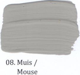 08 Muis - voorstrijkmiddel kalkverf op kleur