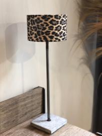 Lampenkap 20 cm panterprint