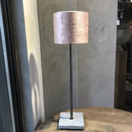 Lampenkap 18x18x15 cm oud rose