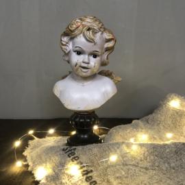 Engel borstbeeldje 23 cm