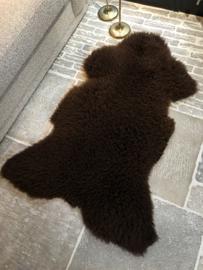 Schapenvacht Texels bruin #117