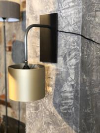 Wandlamp Ot - Zwart metaal