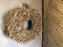 Wortelkrans 40 cm bruin