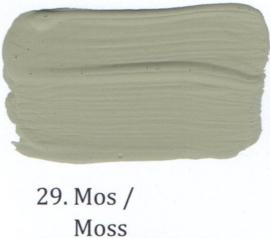 29 Mos - Matte lak OH Terpentinebasis