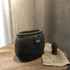 Klassieke pot ovaal S - Touch of brown - Still Collection