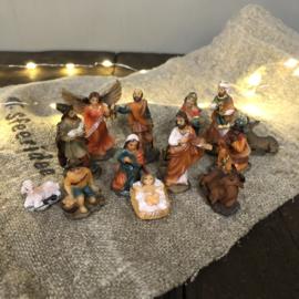 Kerstfamilie klein 11-delig