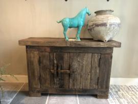 Dressoir van oud hout - 120x40x74 cm