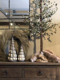 Kerstboom 47 cm glas-ijzer