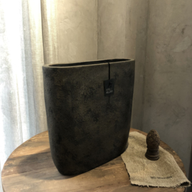 Pot ovaal XL - Touch of brown - Still Collection