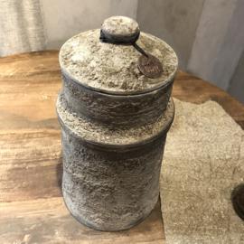Nepalese pot met deksel - 24 cm hoog #1
