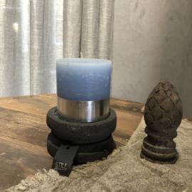 Stompkaars H10 x D10 cm - Lichtblauw