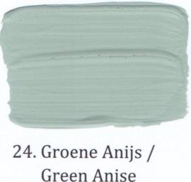 24 Groene anijs - voorstrijkmiddel kalkverf op kleur