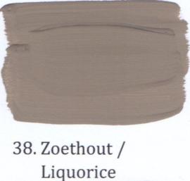 38 Zoethout - Hoogglans lak OH terpentinebasis