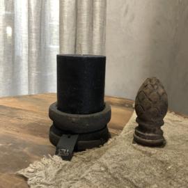 Stompkaars H10 x D10 cm - Zwart